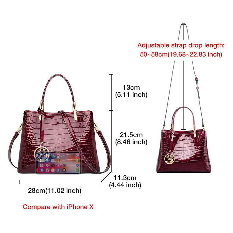 FOXER Coupy Women Handbags Purse 2 colors