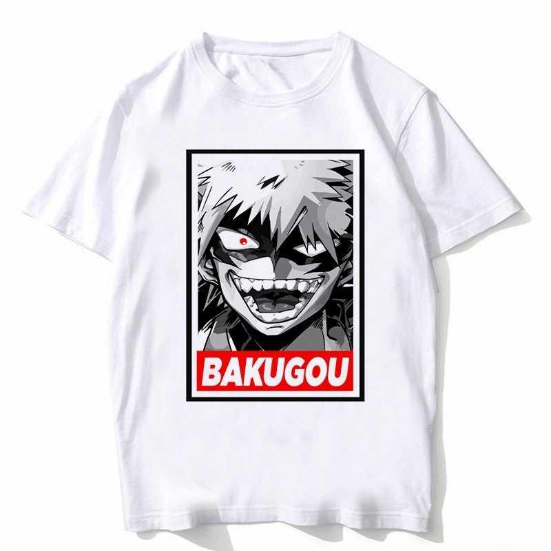 Mais novo O Meu Herói Academia T Camisas de Manga Curta Homem Roupas Boku Nenhum Herói Academia cosplay Engraçado Dos Desenhos Animados T-shirt Para O Homem /mulher
