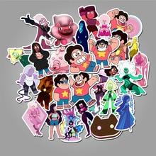 цена на 50 Pcs Steven Universe Boy Steven Universe Cartoon Custom Stickers Luggage Waterproof Stickers Cute Stickers TZ087G