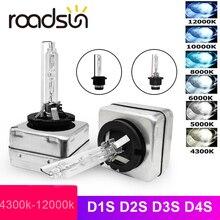 Roadsun 12v 35 ワットD1S D2S D3S D4S hidキセノンヘッドライト電球D1R D2R D3R D4R cbi hidキセノンランプ 3000 18k 4300 18k 5000 18k 6000 18k 8000 18k 10000 18k