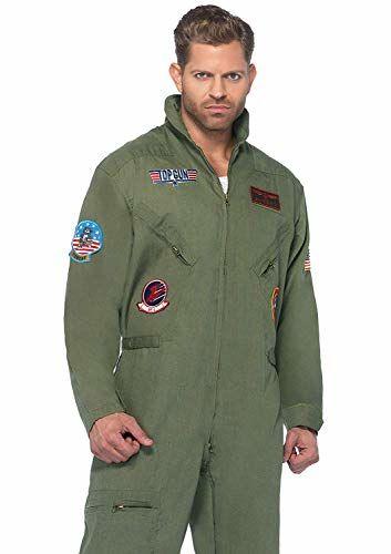 Top Gun Men's Flight Suit Costume Adult Medium/Large
