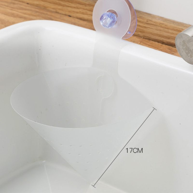 1Pcs Kitchen Self-Standing Drain Sink Leftover Foldable Simple Sink Anti-blocking Device Soup Juice Separated By Garbage Filter