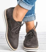 2019  new Casual shoes british style wedge lace up women WXX094