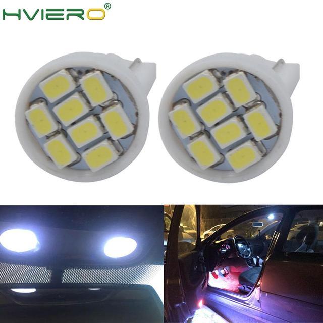 10個led駆動8 smd 1206 8led 8SMD自動車インテリアライト高速道路ライト自動ウェッジ照明dc 12 12vホット販売ホワイトcob led