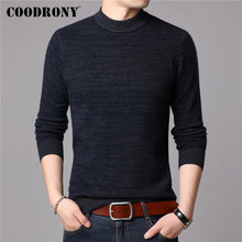 COODRONY Brand Sweater Men 100% Merino Wool Pullover Men Thick Warm Winter Sweaters Soft Cashmere Casual O-Neck Pull Homme 93032 coodrony brand sweater men 100