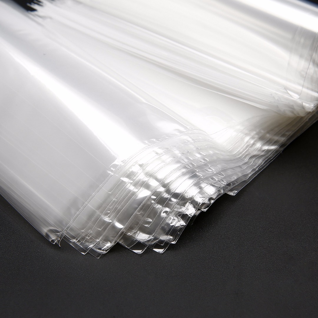 100 Pcs POF 4/'/'x 6/'/' Transparent Shrink Wrap Film Bag Heat Seal Gift Packing