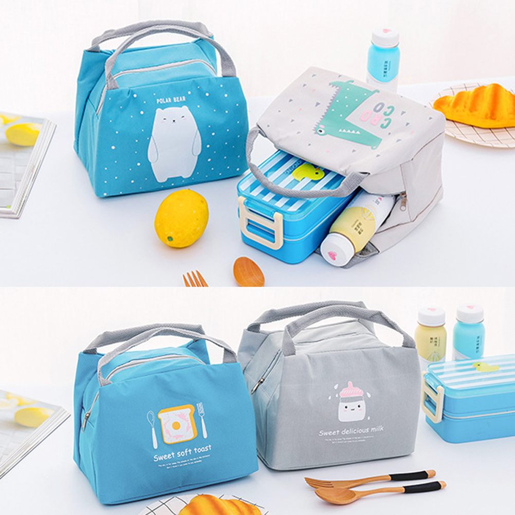 Adults Thermal Waterproof Insulated Lunch Portable Carry Tote Picnic Storage Bag