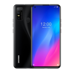 DOOGEE N30 смартфон 6,55 дюймIPS Экран 4 Гб + 128 ГБ MTK6762V Octa core Android 10 распознавания лиц и Dual core 4G мобильный телефон 4180 мАч 5 AI Cam