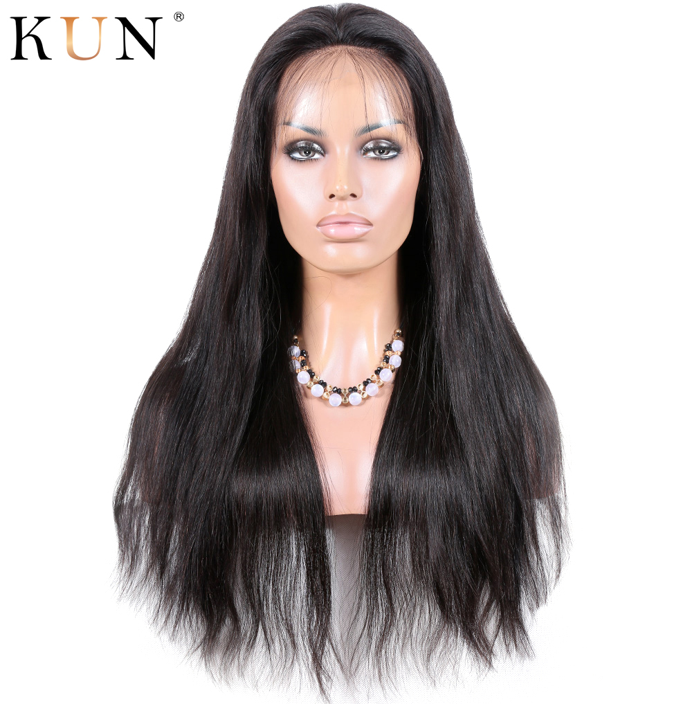 Lace Front Human Hair Wigs Straight Lace Front Wig 13X4 13X6 Human Hair Wigs Remy 150 180 Density Lace Wig Pre Plucked For Women