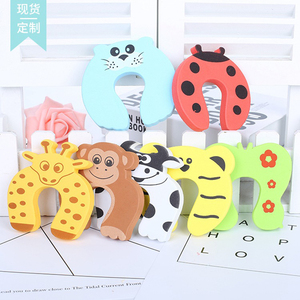 Image 2 - 5pcs Baby Child Proofing Door Stoppers Finger Safety Guard Random Holder Lock Safety Guard Finger Protect Kid Toys For Baby Born