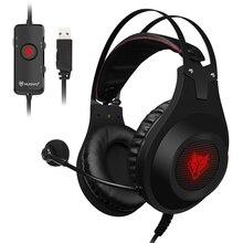 Fones de ouvido estéreo gamer n2, headset para celular xbox pc e microfone, para jogos