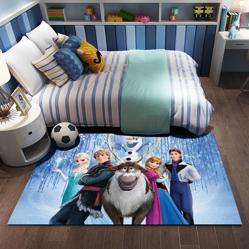 Disney reine des neiges 2 Anna Elsa tapis de jeu tapis de porte tapis antidérapant enfants garçons filles tapis chambre cuisine tapis intérieur salle de bain tapis