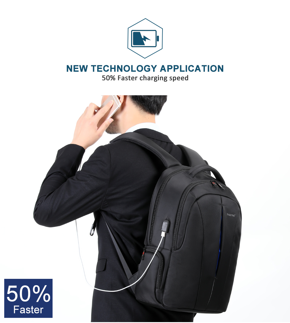 Waterproof 15.6inch Laptop Travel Backpack 8
