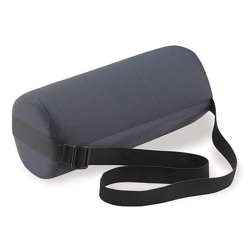 Roll Lumbar Support Pillow For Car Seat Cylinder Ofiice Chair Waist Protecter Pillow Driver Back Protector Lumbar Fatigue Relief