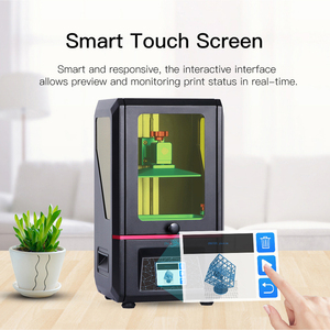 Image 4 - Anycubic פוטון 3D מדפסת 2019 בתוספת גודל SLA/LCD דיוק גבוה 2.8 פוטון מבצע אור ריפוי Impresora imprimante 3d ערכות