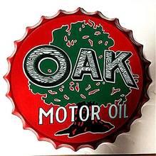 Знак Ретро бутылка для моторного масла кепки в стиле ретро металлическая