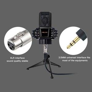 Image 3 - Felyby BM1000 プロ · スタジオオーディオカラオケコンデンサーマイクコンピュータ/ノートパソコン/pc 録音 BM800 更新 mikrofon