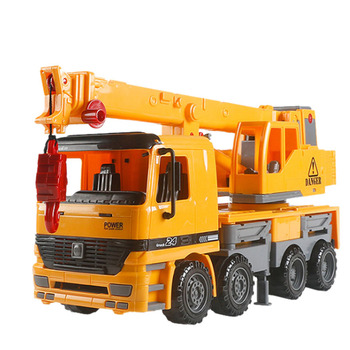Friction Powered Crane Truck Vehicle Toy Construction Toy,Inertia Construction Vehicle Car Toy, Engineering Vehicle,Toys for Chi фото