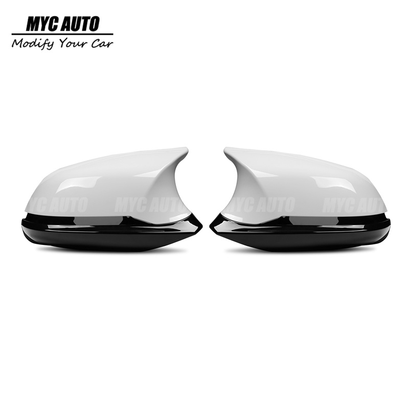 M Style Rear View Mirror Cover 2012 - 2018 For <font><b>BMW</b></font> F30 F30 F20 F21 F22 F23 F32 F33 F36 M2 1 2 3 4 Serie Mirror Cover image