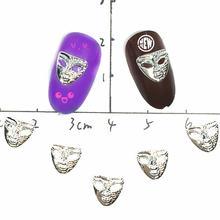 3d nail art украшения металлик виниловые наклейки на стену с