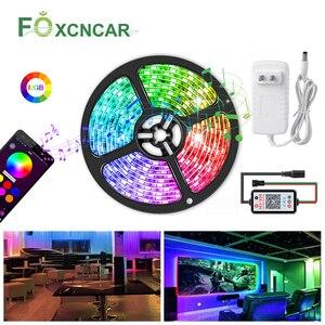 Taśma LED lekka wodoodporna WS2812 IC 12V programowalna indywidualna adresowalna RGB 5050SMD kolor marzeń lampa wstążkowa 5M podświetlenie tv