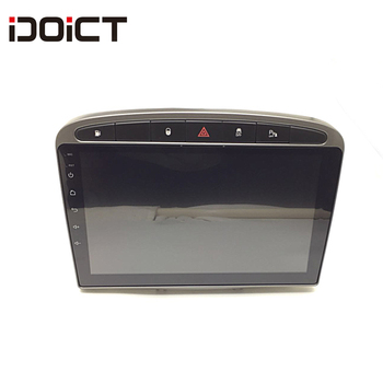 IDOICT Android 9.1 Car DVD Player GPS Navi for Peugeot 408 for Peugeot 308 308SW RCZ Audio Radio Stereo Head Unit image
