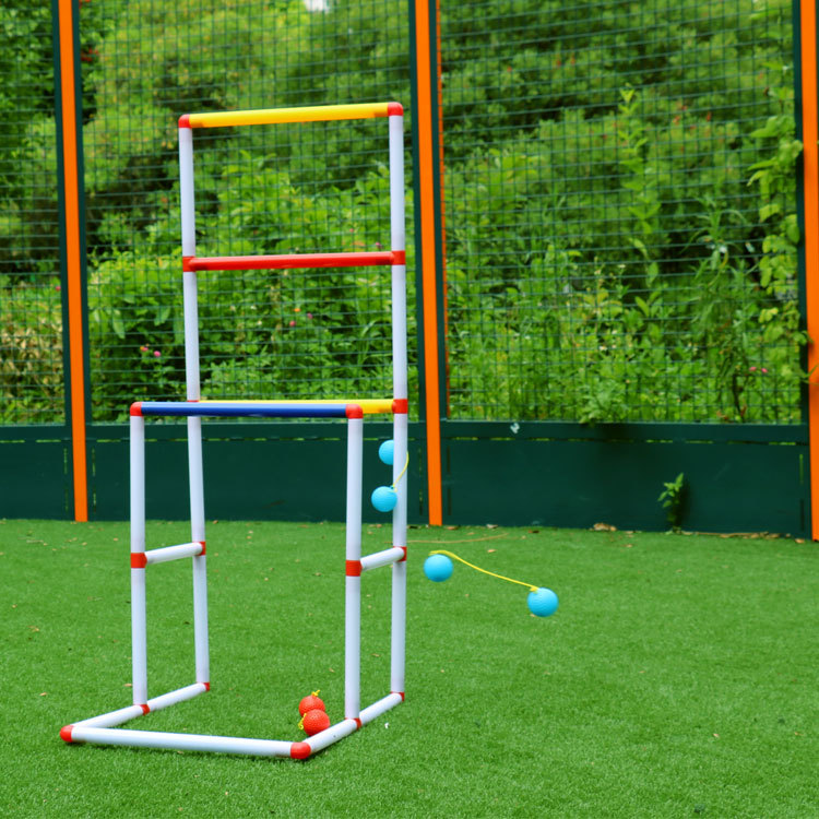 Portable Sport Kids Camping Backyard Non Toxic Ladder Ball Set Durable Adults Toss Game Lawn Funny Golf Toy Outdoor Play