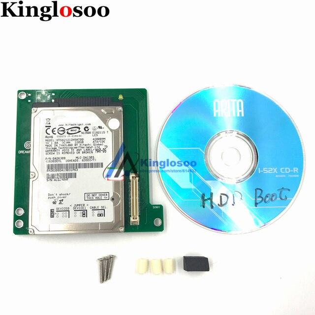 قرص صلب محرك ألعاب وزارة الدفاع لsega Dreamcast تيار مستمر وحدة التحكم HDD ألعاب مجانية 120 قطعة