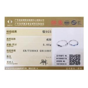 Image 5 - Thaya côte à côte Design anneaux Cool en été S925 bijoux en argent Sterling Couple anneau pour cadeau de fiançailles de mariage