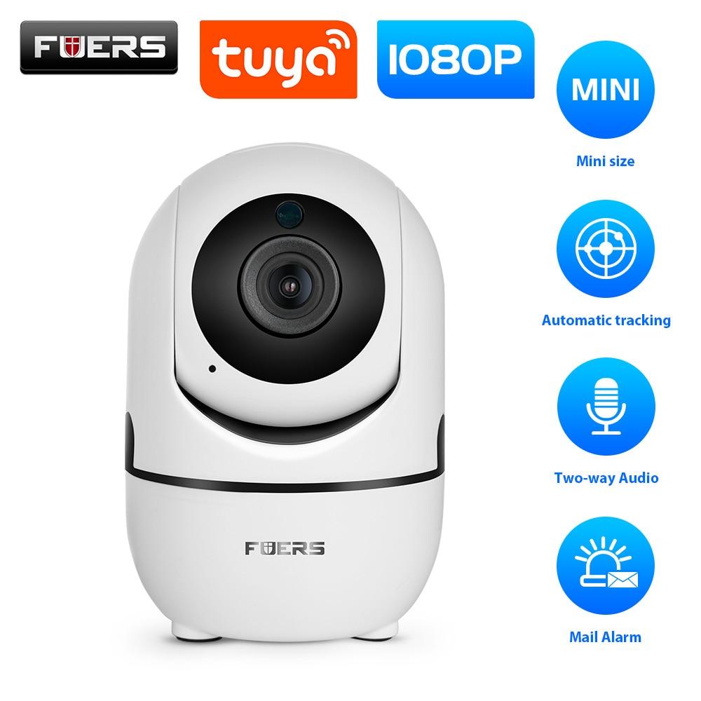 Fuers 1080P IP Camera Tuya APP Baby Monitor Automatic Tracking Security Indoor Camera Surveillance CCTV Wireless WiFi Camera