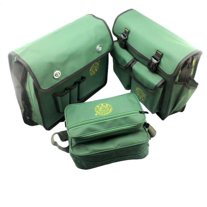 Multifunctional Heavy Canvas Tool Bag Utility Electrical Tool Bags Storage Bag Organizer Hardware Belt Electrician Accessories