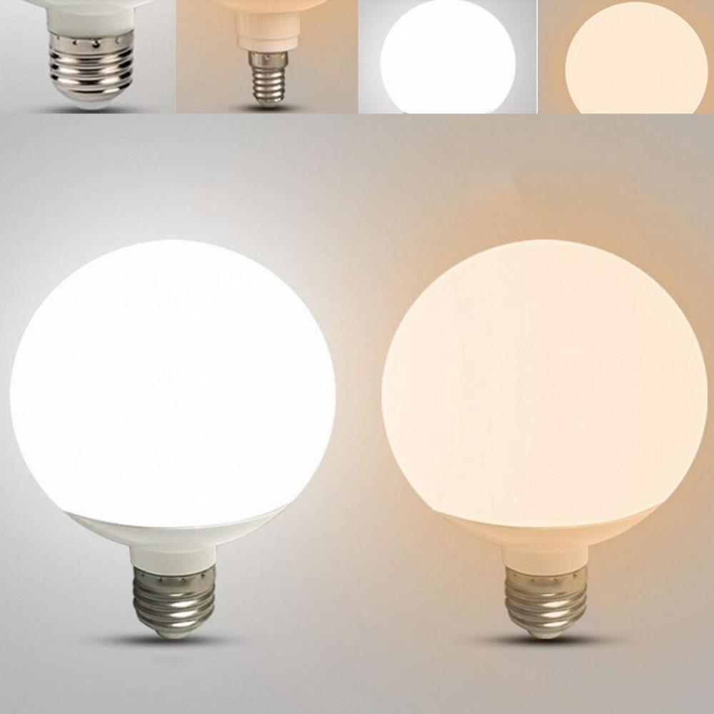 Светодиодный лампы E27 20W 15W 110V 220V G80 G95 G125 энергосберегающие Глобальный светильник Лампада ампулы светодиодный светильник лампы белый/теплый ...