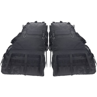 Roll Bar Storage Bag Cage with Multi Pockets Organizers Cargo Bag Tool Kits Holder for 2007 2019 Jeep Wrangler JK Rubicon 4 Door
