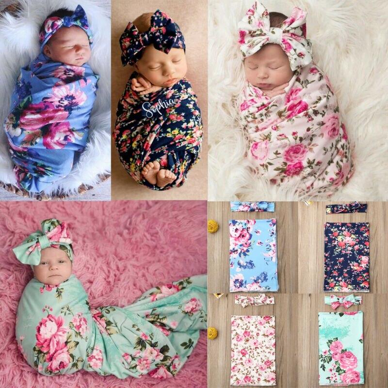 Soft Newborn Flannel Swaddling Blanket Baby Swaddle Bath Towel Sleep Sack