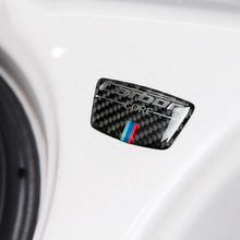 1pcs Car Sticker For Bmw E46 E39 E60 E90 F30 F34 F10 1 2 3 5 7 Series x1 x3 x5 x6 Carbon Fiber Emblem B Column Sticker lqy car sticker steering wheel 3d metal modified for bmw e90 f30 f10 f20 x1 x3 x5 x6 x5 new 3 series 320gt5 series car stickers