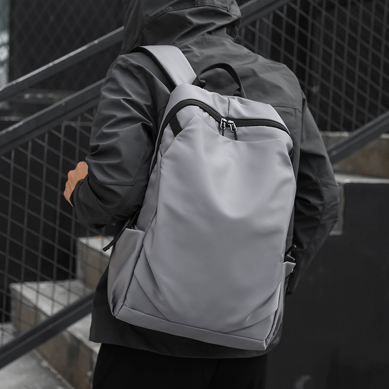 Splashproof Laptop Backpack Large Capacity NO <font><b>Key</b></font> <font><b>TSA</b></font> Anti Theft Men Backpack Travel Teenage Backpack Bag Male Bagpack Mochila image