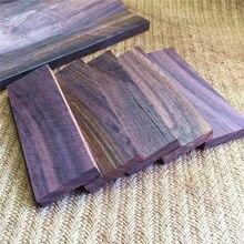 1 pçs indonésia preto rosewood dalbergia latifolia roxb. artesanal diy rosewood woodwork bombay blackwood, leste indiano rosewood