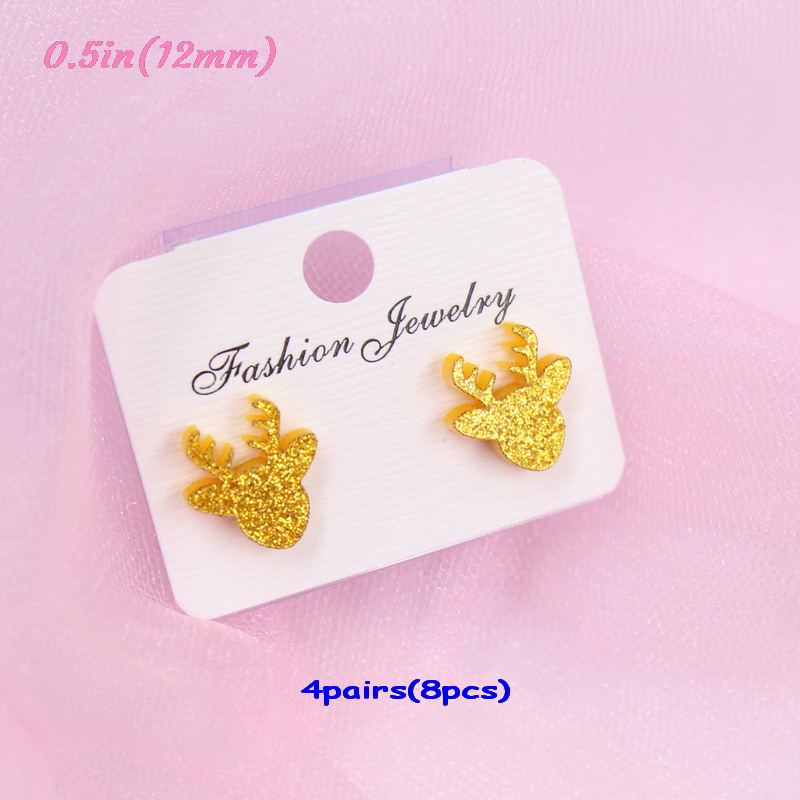 gold glitter-12mm