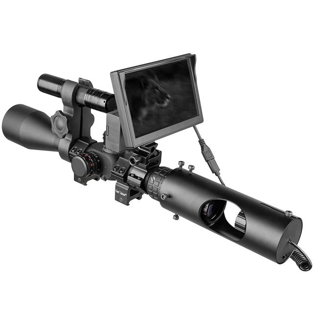 850nm Infrared LED IR Night Vision Riflescope Hunting Scopes Optics Sight Waterproof Hunting Camera Hunting Wildlife Night Visi 3