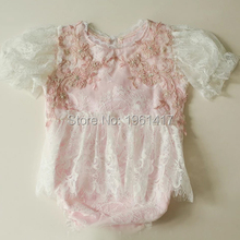 2020 New Summer Baby Clothes Infants Baby Party Rompers Newborn Lace Ruffle Romper Toddler Girls Fashion photography SLS0019