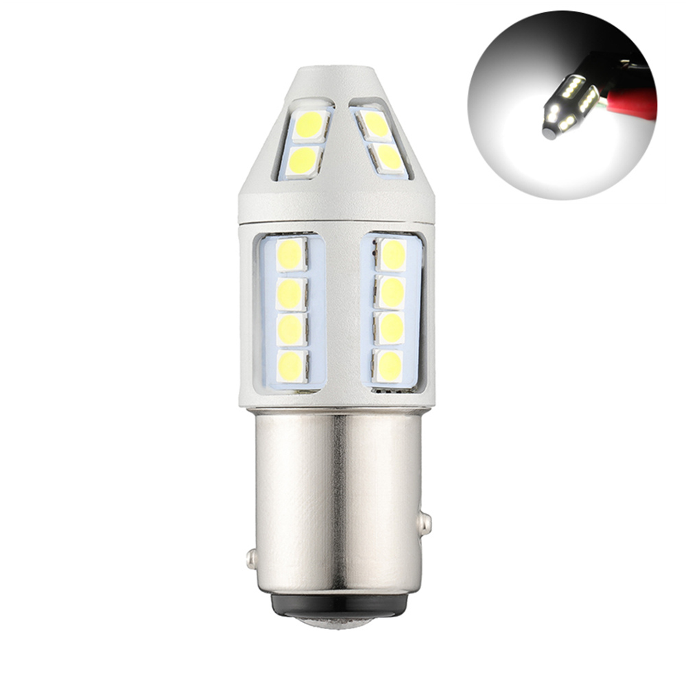 1pc 1157 BAY15D P21/5W Super Bright 30 SMD 3030 <font><b>LED</b></font> Car Tail <font><b>Led</b></font> Bulbs <font><b>21</b></font>/5W Brake Lights Auto Fog Lamps Daytime Running Light image