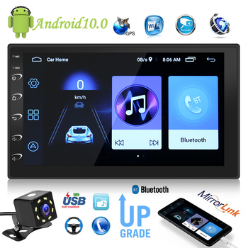 VODOOL Android 10 Car Radio GPS USB 2DIN 9216B 7 inch Multimedia Video Player Easily Installation Personal Car Elements image