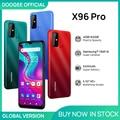 Новый DOOGEE X96 Pro мобильных телефонов 4 Гб Оперативная память 64 Гб Встроенная память Octa Core 13MP Quad Камера смартфонов мобильный телефон Android 11 5400 мА...