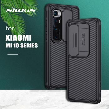 for Xiaomi Mi 10 Ultra Case Nillkin CamShield Case Slide Camera PC Frosted Shield Textured for Xiaomi Mi 10 Ultra Mi10 Pro Case