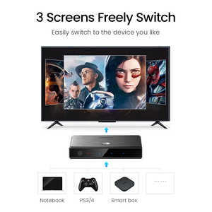 Image 4 - Ugreen HDMI 2.0 HDMI Switch 3 Ports 4K 60Hz 3X1 for Mi Box PS4 Nintendo Switch PC 3 In 1 Out 3 Ports HDMI Switcher Splitter