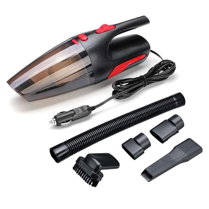 Portable 4 Meter Long Handheld Vacuum Cleaner Wet / Dry Vacuum Cleaner For Car Home 120W 12V 5000PA