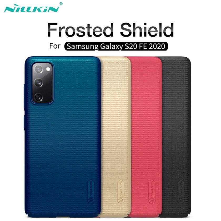 Для Samsung Galaxy S20 FE 5G чехол Nillkin матовый защитный Жесткий ПК задняя крышка для Samsung S20 Fan Edition S20 Lite S20 Ultra Plus