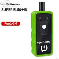 Super EL-50448 sensor de pressão dos pneus tpms gm/ford para gm buick chevrolet cadillac lincoln ford pneu pressão redefinir instrumento