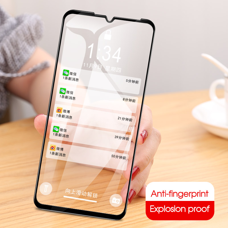 Full Cover Tempered Glass For MEIZU Note 9 Note9 Phone Screen Protector Glass For Meizu Note 9 Protective Glass 9H Safety Film