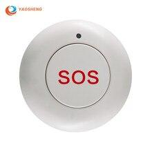 Домашняя охранная сигнализация Системы Смарт Беспроводной SOS Аварийная кнопка для чрезвычайной ситуации для Солнечная приведенная в действие на открытом воздухе сирена